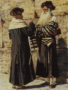 Two Jews - Vasily Vereshchagin