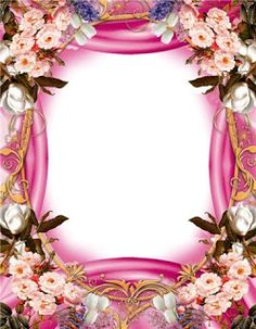 GIFY I OBRAZKI: RAMKI RÓŻNE Bow Wallpaper, Pink Wallpaper Iphone, Boarder Designs, Family Photo Frames, Apple Prints, Birthday Frames, Borders And Frames, Floral Border, Flower Backgrounds