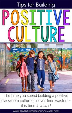 Would you believe me if I told you that classrooms with a positive culture all have ONE thing in common? It's hard to believe, but research shows that there really is ONE MAGIC INGREDIENT! // Adventures of a Schoolmarm // http://www.adventuresofaschoolmarm.com/2016/06/positive-classroom-culture.html