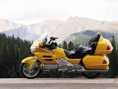 2002 honda goldwing, the other color offered in 02