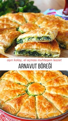 – Nefis Yemek Tarifleri How to make Pastry Recipe (with video)? Here is a picture description of this recipe in the book of people and photographs of those who tried it. Albanian Recipes, Turkish Recipes, Pastry Recipes, Cooking Recipes, Pizza Recipes, How To Make Pastry, Best Pie, Smoked Fish, Flaky Pastry