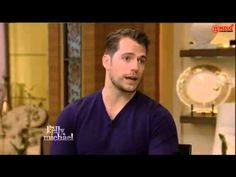 "Henry Cavill attends ""Live with Kelly and Michael"""