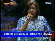 Concierto Elena Gil en la clausura del FitVen 2013