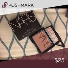 Nars love joy blush/ bronzer Brand new never swatched  unwanted gift.. reason for selling already have this item.. I prefer meet up im from Linden New Jersey coz i dnt have account or paypal.. i also dnt trust shipping if its not from sephora or ulta coz most of the time they break the item.. im open for trade make sure ur item is good as new if its swatch must sanitize it.. NARS Makeup Bronzer