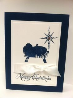 day one of 12 days of Christmas using Stampin Up First Christmas