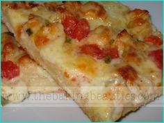 Gourmet Chicken Pizza - The Baking Beauties