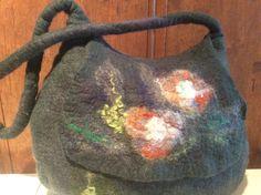 Filcowana torebka, felted handbag