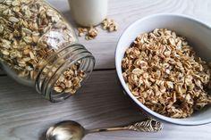 knuspermuesli vegan ohne öl fettarm ohne Zucker glutenfrei gesund ohne Zucker