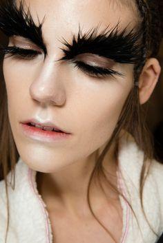 Alexander McQueen #makeup