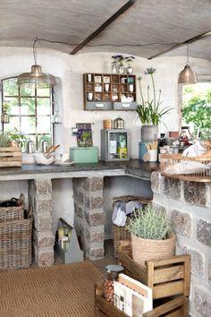letní kuchyň
