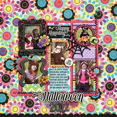 Digital Scrapbook - Happy Haunting Graffiti | Bella Gypsy - this layout is soooo very awesome!  wow! wow! and wow!!!!