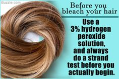 Bleaching hair with hydrogen peroxide