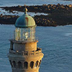 La lanterne du phare de l'île vierge Bretagne <3