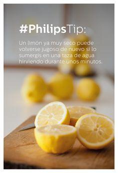 #PhilipsTip: ¿Qué hacer con los limones cuando se secan?
