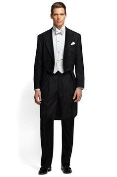 If your wedding will be the epitome of a formal celebration, go for White Tie and Tails.