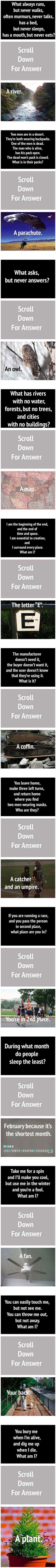 12 epic riddles.