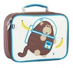 Space monkey lunchbox by Beatrix NY