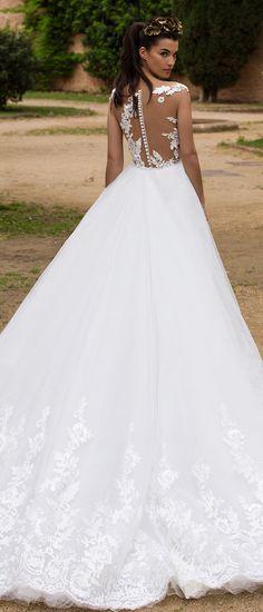 Milla Nova Bridal 2017 Wedding Dresses enrika2 / http://www.deerpearlflowers.com/milla-nova-2017-wedding-dresses/3/