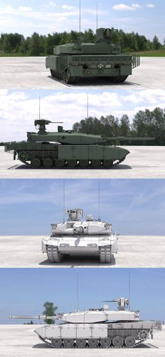 Leopard 2 MBT Revolution(Green) Model available on Turbo Squid, the world's leading provider of digital models for visualization, films, television, and games. Army Vehicles, Armored Vehicles, Military Weapons, Military Army, Luftwaffe, Military Drawings, Tank Armor, Armoured Personnel Carrier, Model Tanks