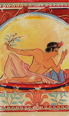 XIX. The Sun: Etruscan Tarot