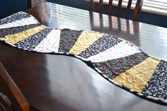 Table Runner by StitchingMyTimeAway on Etsy