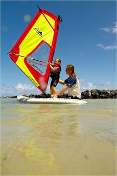 Learn to windsurf with inspiration...