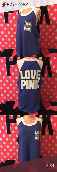 VS PINK TANK🔥NEW🔥NWT🔥Victoria's Secret PINK🌷 💕NEW VS PINK💕BOYFRIEND TANK  💕SIZE: LARGE 💕FIT: LOOSE/ OVERSIZED 💕PRICE IS FIRM💕 💕BUNDLE AND SAVE💕 💕ALL ITEMS ARE NEW WITH TAGS/NEW IN PLASTIC UNLESS STATED OTHERWISE 💕SHIPS SAME OR NEXT DAY MON-SAT💕 💕NO HOLDS💕 ❌NO TRADES❌ 💕PLEASE RATE IN A TIMELY FASHION💕 ❤️THANK YOU❤️ 💕CAITLINJGROVES💕 PINK Victoria's Secret Tops Tank Tops