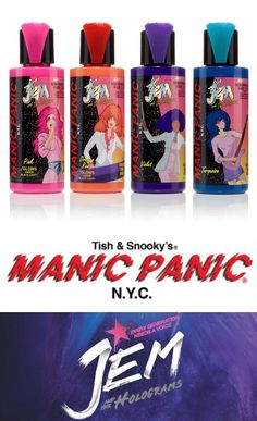 Phyrra tells you everything about the Manic Panic Jem & The Holograms Hair Dye collection and talks about the upcomiing movie!