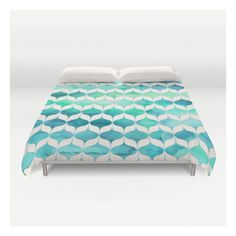 Ocean Rhythms And Mermaid's Tails Duvet Cover ($129) ❤ liked on Polyvore featuring home, bed & bath, bedding, duvet covers, king size bedding, king bedding, microfiber bedding, queen duvet and lightweight duvet insert