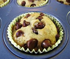 Once Upon A Gourmet Gin: If you give El Belle a Chocolate Chip Banana Cauliflower Muffin. . . . .