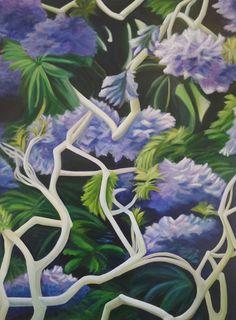 Louise Taylor - Artist ~ Products ~ Spring Celebration - Original Artwork - 90 x 120cm ~ Shopify