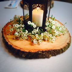 9-10 Wood centerpieces wood chargers wood by RusticWoodSlices