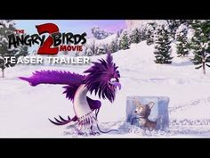 The Angry Birds Movie 2 Teaser Trailer - When a new threat emerges that puts both Bird and Pig Island in danger, Red (Jason Sudeikis), Chu Bill Hader, New Movies, Good Movies, Imdb Movies, Netflix Movies, Movies Free, Funny Movies, Watch Movies, Movies Online