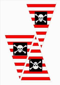 PLANEANDO FIESTA PRINCESAS Y PIRATAS.... | Aprender manualidades es facilisimo.com Deco Pirate, Pirate Boy, Pirate Theme, Pirate Birthday, Third Birthday, Pirate Crafts, Shark Party, Party Decoration, Happy B Day