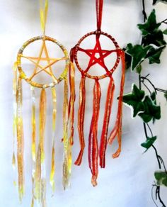Pagan Wiccan Beltane Fire Pentacles For by PositivelyPagan on Etsy, £4.99