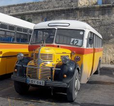 The sentimental journey... Old buses in Malta