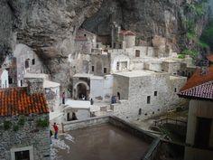 The Sumela Monastery, Macka, Trabzon, Turkey