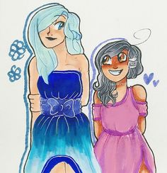 I like to think this is katelyn and aph at their parents wedding.