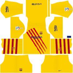 Barcelona Football Kit, Barcelona Team, Barcelona Jerseys, Fcb Logo, Liga Soccer, Barcelona Champions League, Soccer Uniforms, Football Kits, Liverpool