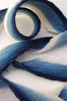 Indigo on bamboo, blue trend for SS15