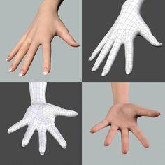female hand topology