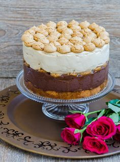 Food Cakes, Tiramisu, Cake Recipes, Cheesecake, Candy, Ethnic Recipes, Sweet, Desserts, Pie