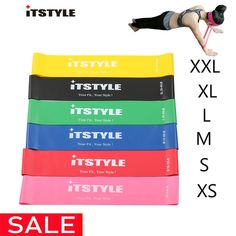ITSTYLE Resistance Bands 6 Levels Exercises Elastic Fitness Training Yoga Loop Band Workout Pull Rope With Strength Test Video Brand Name: ITSTYLEDepartment Name: UnisexFunction: BodyApplication: Rubber String Chest DeveloperModel Number: Squat, Band Workouts, Exercise Bands, Yoga Band, Test Video, Resistance Band Exercises, Training Exercises, Keep Fit, Crossfit