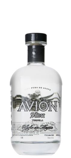Avion Tequila Silver.