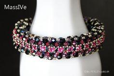 Anleitung MassIVe Armband aus Perlen von PERLENgold auf Etsy, 12.50