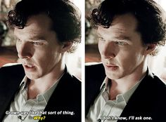 Sherlock...does not consider himself a grown-up.