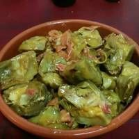 Alcachofas a la cerveza (Thermomix) Nut Recipes, Sweet Recipes, Cooking Recipes, Healthy Recipes, Spanish Dishes, English Food, Tapas, Food To Make, Food And Drink