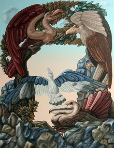Victor Molev - Ornithological symphony by Ludwig van Beethove Optical Illusions Drawings, Optical Illusion Paintings, Illusion Drawings, Illusion Art, Art Drawings, Hidden Images, Hidden Pictures, Creative Pictures, Illusion Pictures