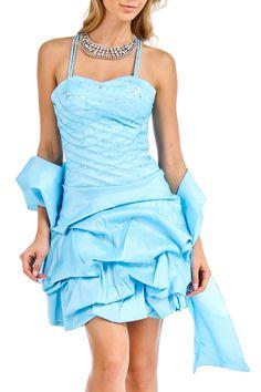 Signorita - Makenna Dress in Aqua