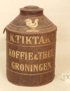 K.Tiktak Koffie & Thee Groningen.